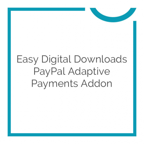 Easy Digital Downloads PayPal Adaptive Payments Addon 1.3.4
