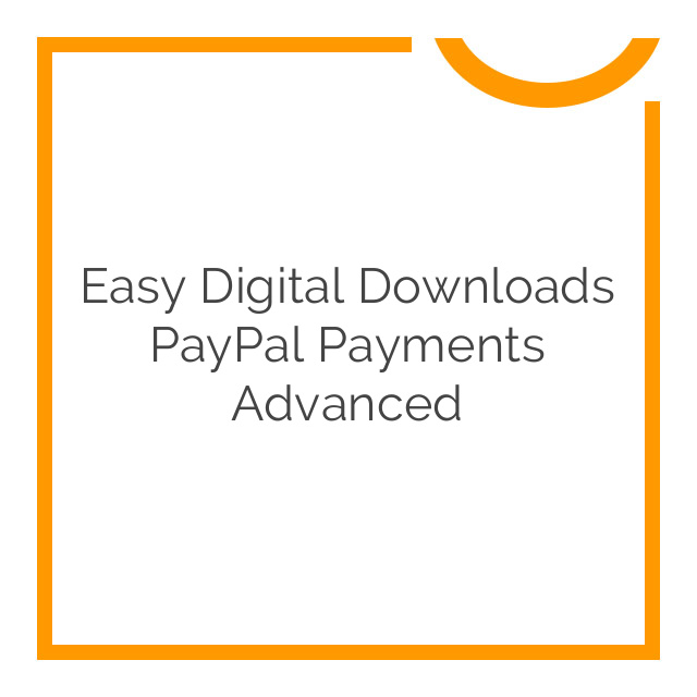 Easy Digital Downloads PayPal Payments Advanced 1.1.1