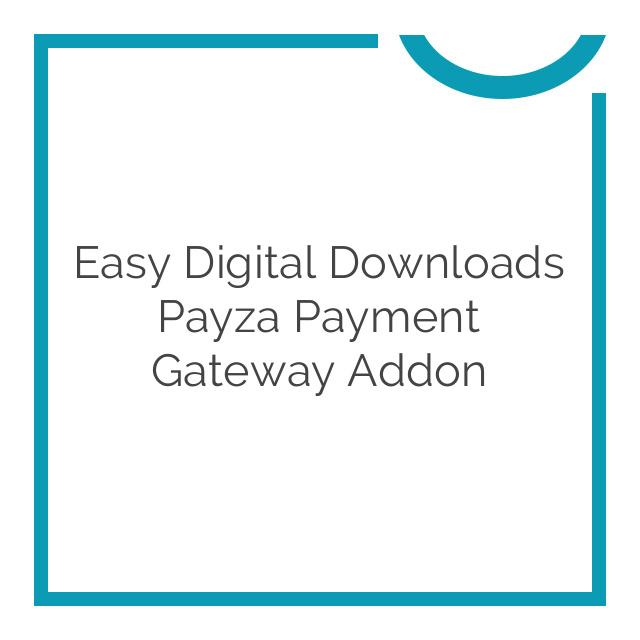 Easy Digital Downloads Payza Payment Gateway Addon 1.0.5