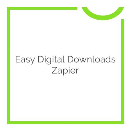 Easy Digital Downloads Zapier 1.3.5