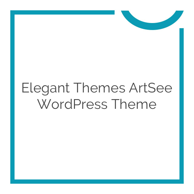 Elegant Themes ArtSee WordPress Theme 5.0.6