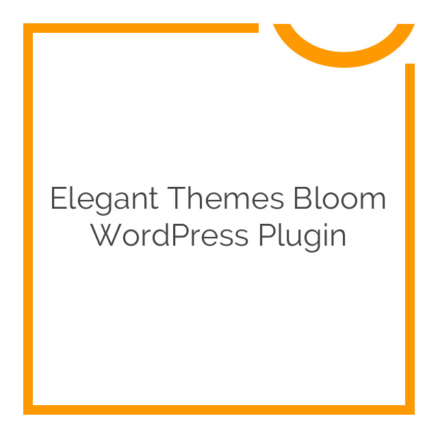 Elegant Themes Bloom WordPress Plugin 1.2.22