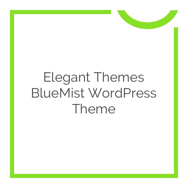 Elegant Themes BlueMist WordPress Theme 5.1.6