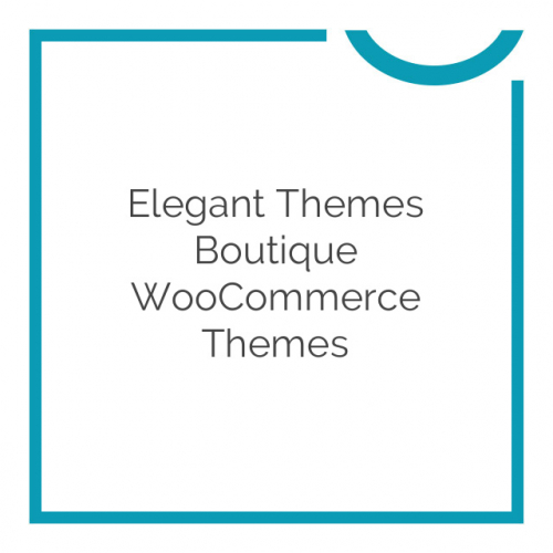 Elegant Themes Boutique WooCommerce Themes 3.6.9