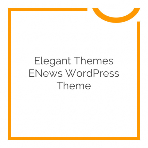 Elegant Themes eNews WordPress Theme 4.9.6