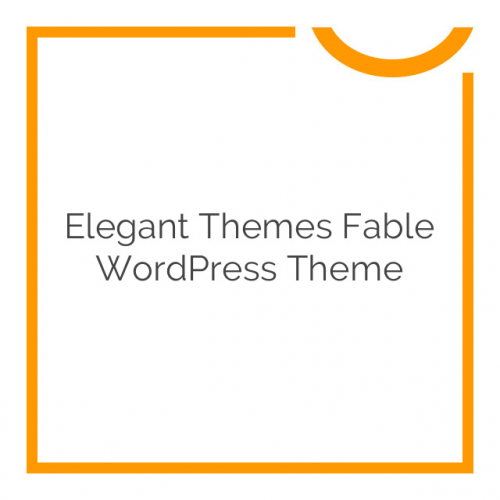 Elegant Themes Fable WordPress Theme 1.7.7