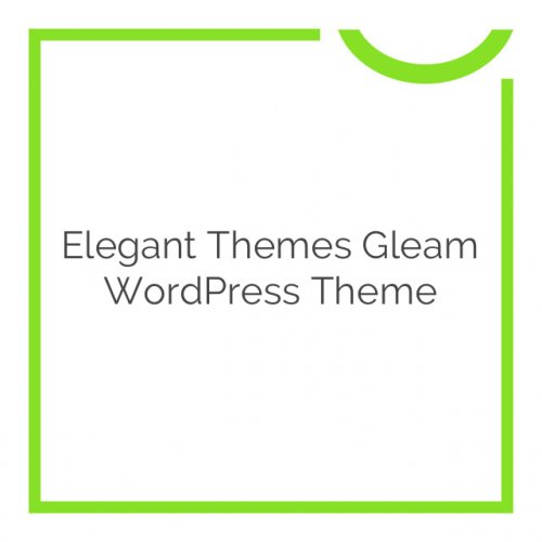 Elegant Themes Gleam WordPress Theme 2.8.6