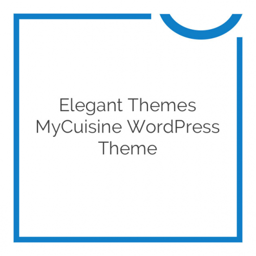 Elegant Themes MyCuisine WordPress Theme 3.7.7