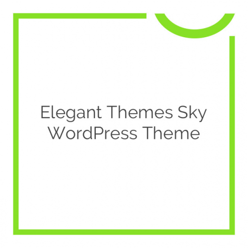 Elegant Themes Sky WordPress Theme 2.9.6