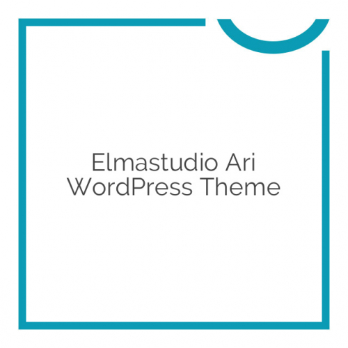 Elmastudio Ari WordPress Theme 1.2