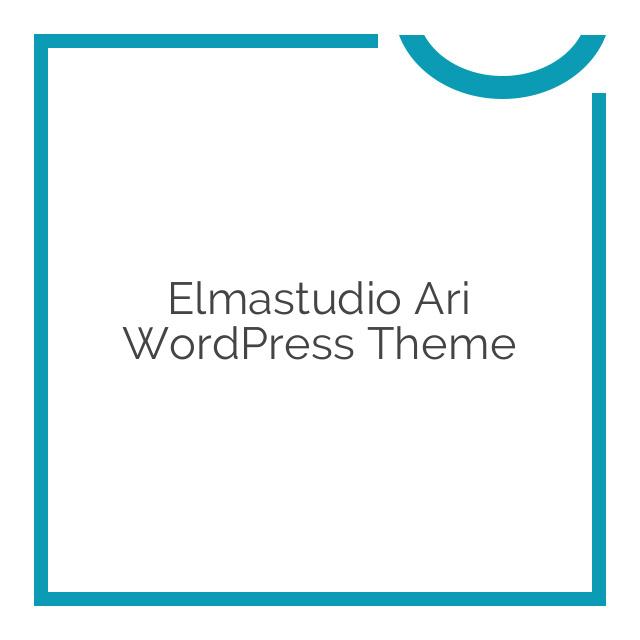 Elmastudio Ari WordPress Theme 1.2