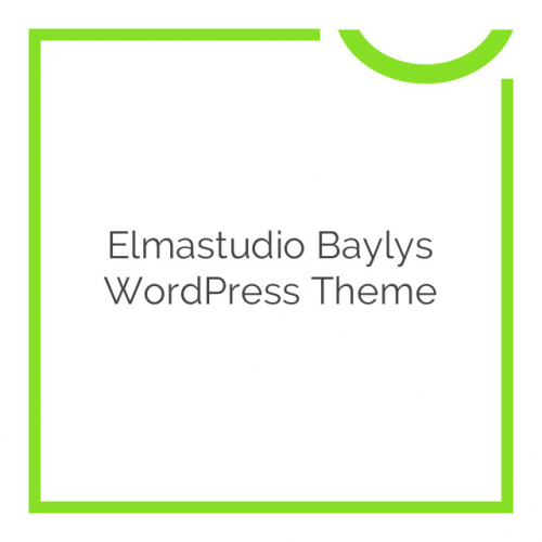 Elmastudio Baylys WordPress Theme 1.1.2