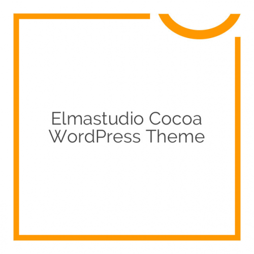 Elmastudio Cocoa WordPress Theme 1.0.5