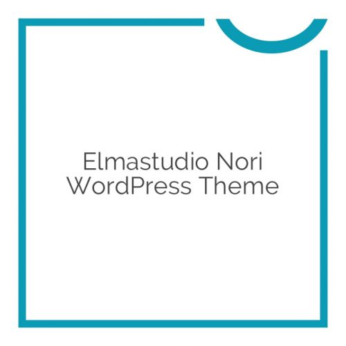 Elmastudio Nori WordPress Theme 1.0.4