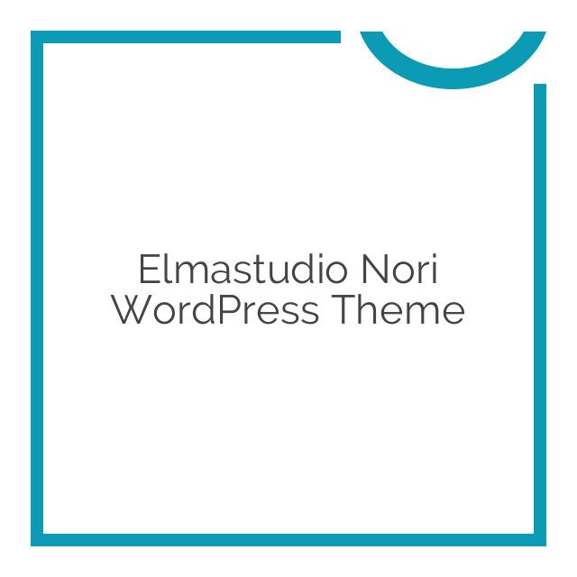 Elmastudio Nori WordPress Theme 1.0.4