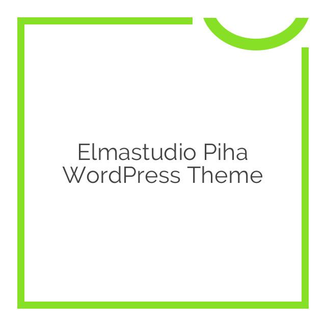 Elmastudio Piha WordPress Theme 1.0.4
