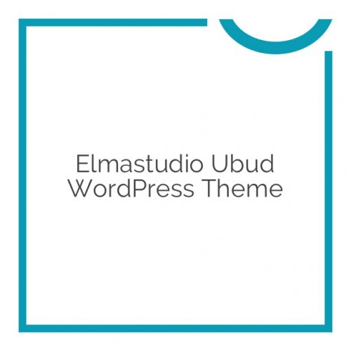 Elmastudio Ubud WordPress Theme 1.0.4