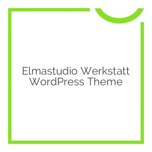 Elmastudio Werkstatt WordPress Theme 1.0.2
