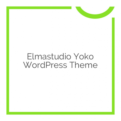 Elmastudio Yoko WordPress Theme 1.2.2