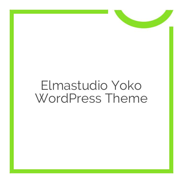 Elmastudio Yoko WordPress Theme 1.2.2