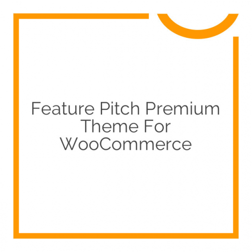 Feature Pitch Premium Theme for WooCommerce 1.5.0