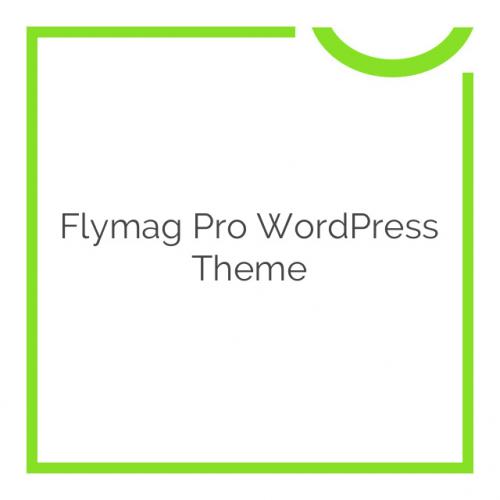 Flymag Pro WordPress Theme 2.0.2