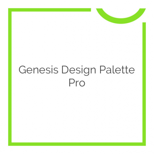 Genesis Design Palette Pro 1.3.21