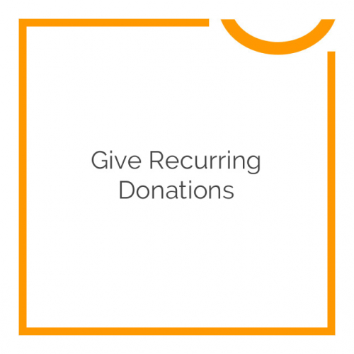 Give Recurring Donations 1.5.0