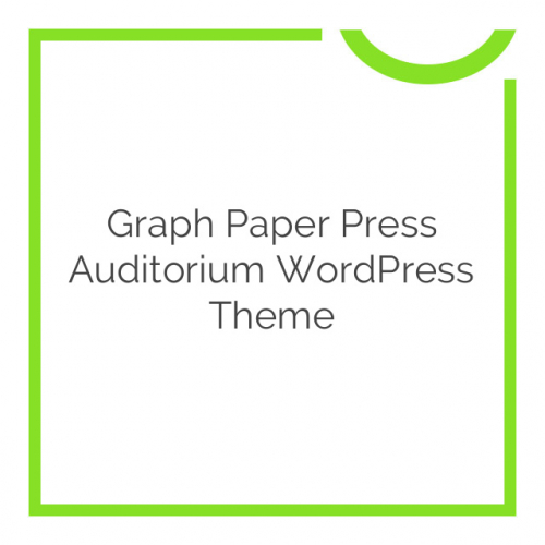 Graph Paper Press Auditorium WordPress Theme 1.2.8