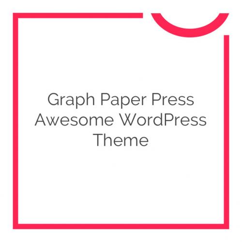 Graph Paper Press Awesome WordPress Theme 10.0.1