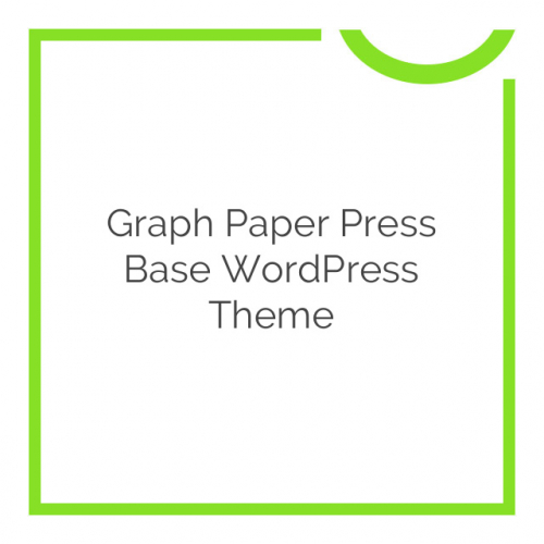 Graph Paper Press Base WordPress Theme 3.0.5