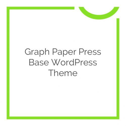 Graph Paper Press Base WordPress Theme 3.0.5