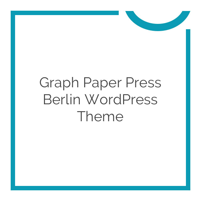 Graph Paper Press Berlin WordPress Theme 2.5.2