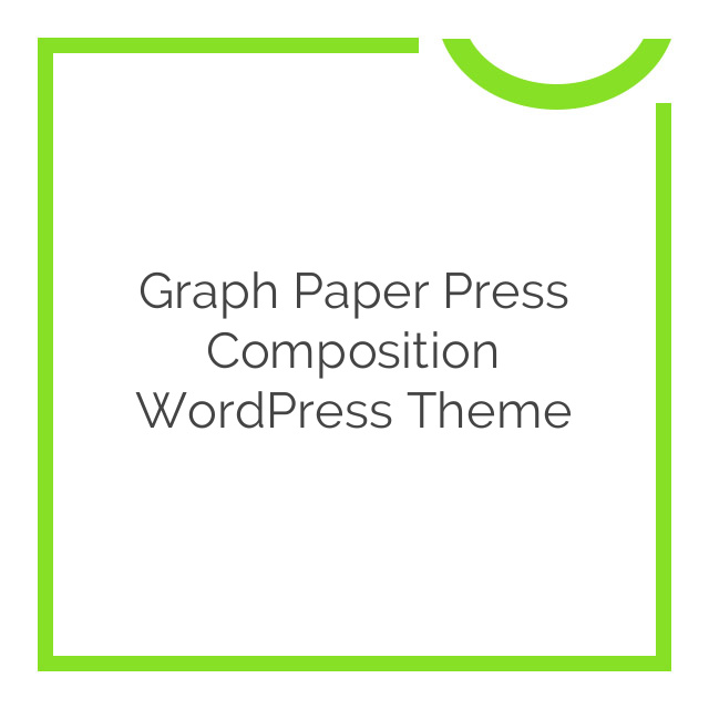 Graph Paper Press Composition WordPress Theme 1.0.2