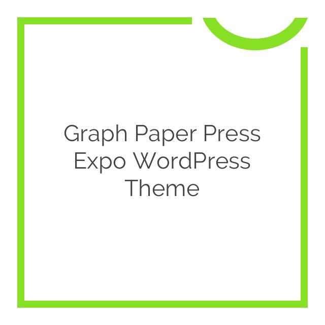 Graph Paper Press Expo WordPress Theme 1.0.3