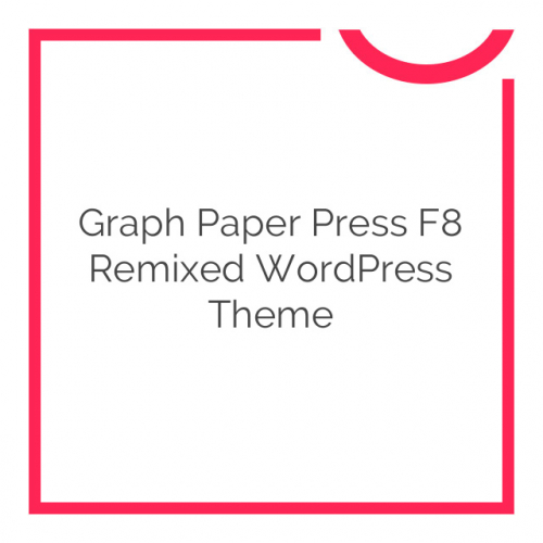 Graph Paper Press F8 Remixed WordPress Theme 4.0.2