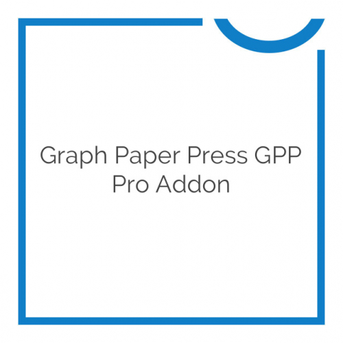 Graph Paper Press GPP Pro Addon 1.0.2
