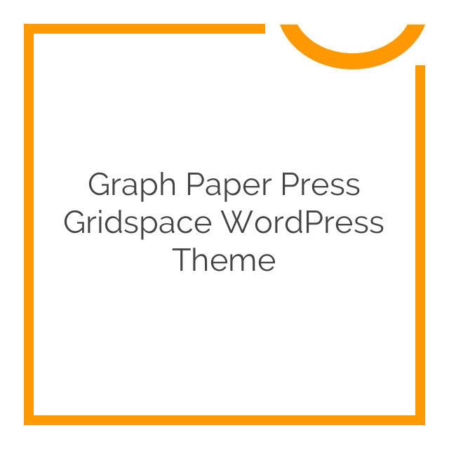 Graph Paper Press Gridspace WordPress Theme 1.5.2