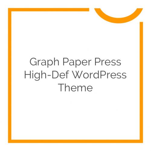 Graph Paper Press High-Def WordPress Theme 4.0.1