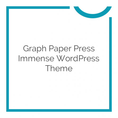Graph Paper Press Immense WordPress Theme 3.0