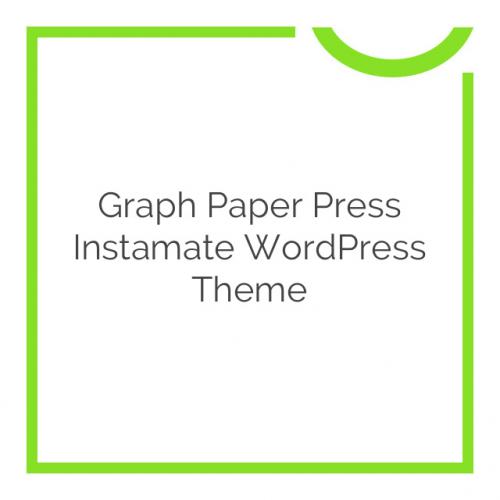 Graph Paper Press Instamate WordPress Theme 1.2.5