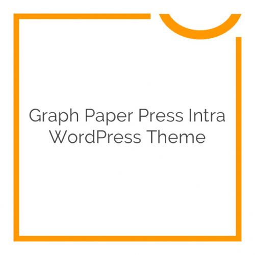 Graph Paper Press Intra WordPress Theme 1.0.8