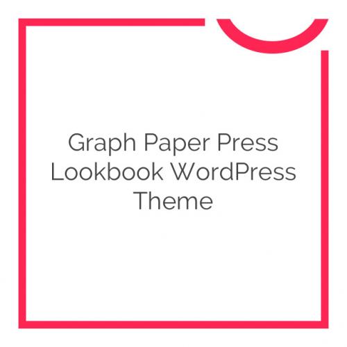 Graph Paper Press Lookbook WordPress Theme 1.1.3