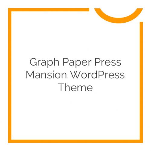 Graph Paper Press Mansion WordPress Theme 1.3.2