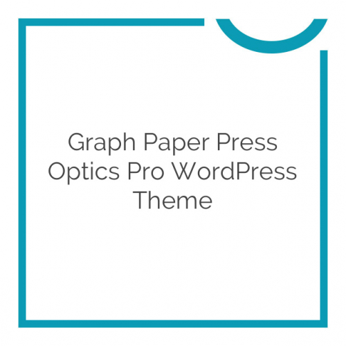 Graph Paper Press Optics Pro WordPress Theme 1.1