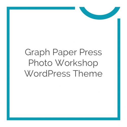 Graph Paper Press Photo Workshop WordPress Theme 1.3.4