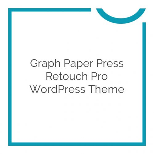 Graph Paper Press Retouch Pro WordPress Theme 1.2.5.1