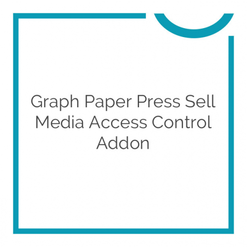Graph Paper Press Sell Media Access Control Addon 1.1