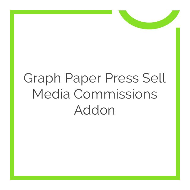 Graph Paper Press Sell Media Commissions Addon 2.0.6