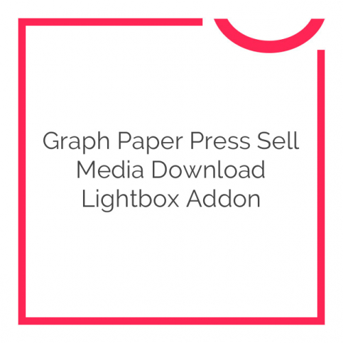 Graph Paper Press Sell Media Download Lightbox Addon 1.0.2